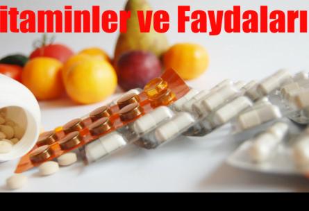 vitaminler ve faydaları