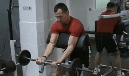 bar biceps