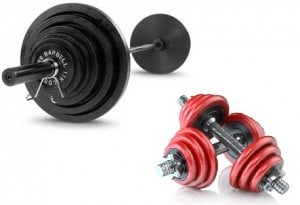 barbell dumbell