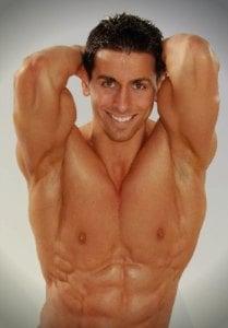 erkek fitness model
