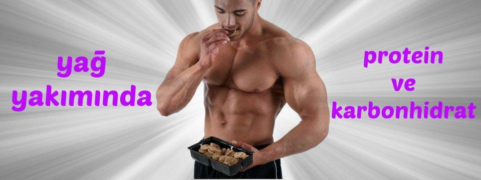 yag yakiminda protein ve karbonhidrat