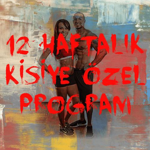 12 HAFTALIK KİŞİYE ÖZEL PROGRAM