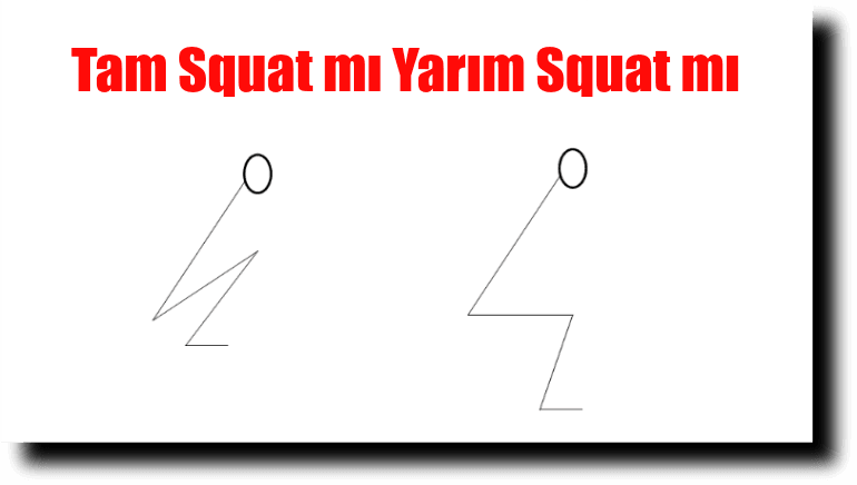 full squat vs half squat