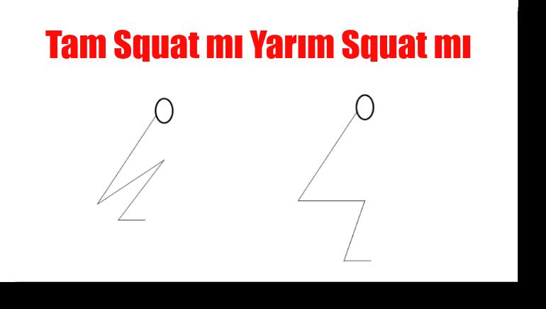 Squat Çeşitlerinden Tam Squat mı Yarım Squat mı Yapılmalıdır?